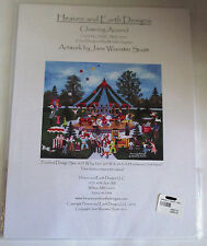 Heaven And Earth Designs Clowning Around Counted Cross Stitch Pattern