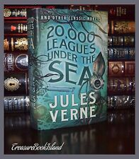 20,000 Leagues Under the Sea by Jules Verne Earth New Collectible Hardcover HTF