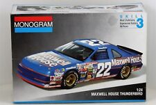 Monogram 1/24 Scale Sterling Marlin #22 Maxwell House Thunderbird in Box