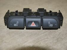 JAGUAR X-TYPE HEATED SEAT SWITCHES HAZARD WITH LIGHT GREY TRIM 1X43-138302-BD