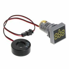 BAYITE UA3B03401 Voltage Tester Current Detector Meter Indicator - Yellow