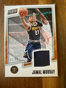 A55,797 - 2017-18 Panini Player of the Day Jersey #JM Jamal Murray/99