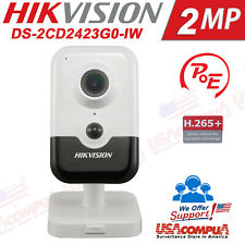 Hikvision Wi-Fi 2MP Cube Network Camera PIR DS-2CD2423G0-IW (2.8mm)  IR Fixed