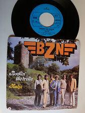 """BZN : Rockin' the trolls / Nadja 7"""" 45T SP 1980 Belgium pressing MERCURY 6017075"""