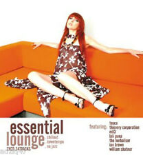 2 CD ESSENTIAL  LOUNGE CHILLOUT- DOWNTEMPO-NU JAZZ