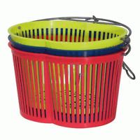 Gimi cestino cestello portamollette in plastica porta mollette vari colori