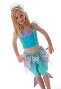Fairy Girls Dress Up Mermaid Blue
