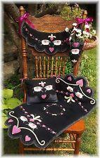 PATTERN~*My Heart Belongs To Ewe*~ Sheep Runner, Chair swag, Pillow & Pocket