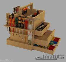 ImatiX LBX42 * Werkzeugeinsatz Holzeinsatz f Sortimo / Bosch. L-Boxx 374 NEU!!!