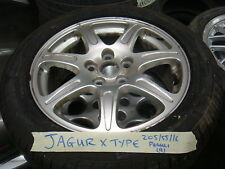 JAGUAR X TYPE ALLOY WHEEL & TYRE 205/55/16