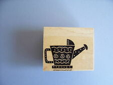 STAMPIN' UP RUBBER STAMPS GARDEN WATER CAN SILHOUETTE STAMP