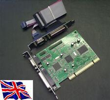 Pci 2s2p Combo Card con RS-232 2 SERIAL UART 16c1050 2S + 2P 2 porta parallela