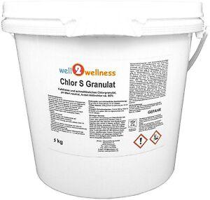 Chlorgranulat schnell löslich Chlor S Granulat mit 60% Aktivchlor in 9 Varianten