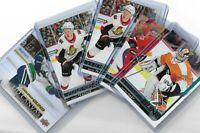 2018-19 Upperdeck Series 1&Series 2 Young Guns 201-250 + 451-500 + Canvas U PICK