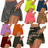 Womens Athletic Pleated Tennis Golf Skirt with Shorts Workout Running Skort Pant