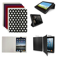 iPad 2/3/4 - Slim Tri Fold Case Cover - In All Colours by Orzly