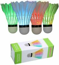 4 Pack LED Badminton, LED Shuttecocks