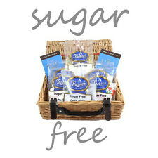 Deluxe Sugar Free Diabetic Assorted Sweets Chocolate Hamper Gift Basket 8 items