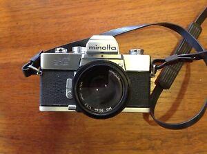 Minolta SRT SUPER complete with 3 lenses