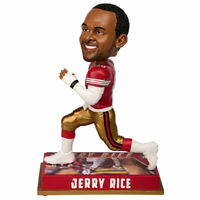 San Francisco 49ers Jerry Rice 2016 NFL Legends Bobble Head NIB 8""
