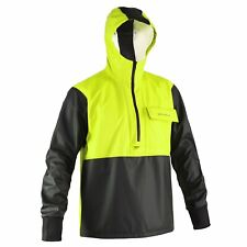 Yellow Grundens Neptune 103 Anorak Pullover Jacket Commercial Fishing Rain Gear