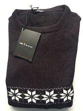 Kiton Sweater Brand New Brown 100% Cashmere Size M (50 EU)