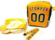 NEW Stomper Cooler Bag Fleece Poncho Oakland A's Athletics 2017 Kids Fanfest SGA