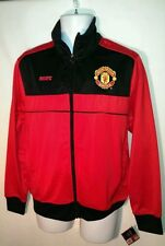 Manchester United (MUFC) Official Merchandise Zip Up Athletic Mens Jacket Small