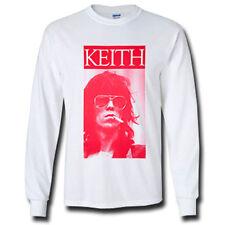 Keith Richards Sigarete Long Sleeve T-Shirt