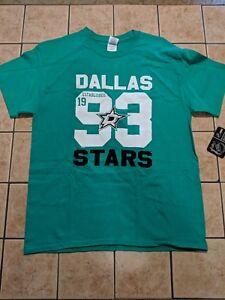 NWT Men's Gildan Dallas Stars Green Tee Shirt