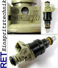 Einspritzdüse BOSCH 0280150747 Opel Astra F 1,8 i gereinigt & geprüft