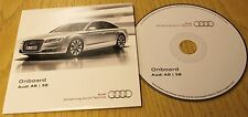 GENUINE AUDI A8 S8 2013-2015 ONBOARD CD DISC HANDBOOK MANUAL 142.565.4H0.88