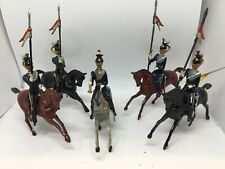 Britains 21st Empress Of India's Lancers In Full Dress & Trumpeter  (Ref W 344)