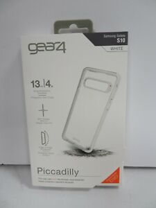 GEAR 4 PICCADILLY CASE FOR SAMSUNG GALAXY S10  - WHITE (R989)