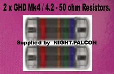 2 X GHD MK4 / 4.2 /5 REPLACEMENT 50 OHM RESISTORS FOR REPAIRS OF NO POWER ON PCB