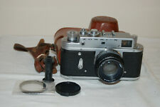 Zorki-4 Vintage 1973 Rangefinder Camera and Jupiter-8 lens. No.73404055. UK Sale