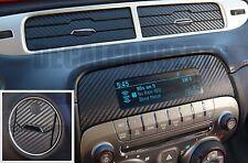 2010-2015 Camaro Carbon Fiber Interior Dash Decal kit Sticker - Chevy vent skin