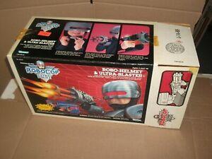 1989 Kenner Robocop ROBO-HELMET & ULTRA-BLASTER box