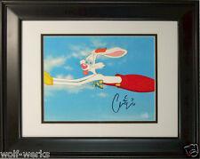 Original Disney Production Cel Who Framed Roger Rabbit Signed Charles Fleischer