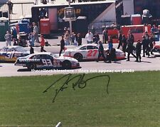 DAVE BLANEY AUTOGRAPHED SIGNED AMOCO ULTIMATE RACING CAR NASCAR PIT ROAD PHOTO