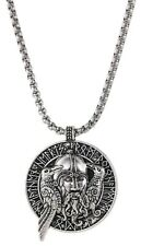 Protection Viking Nordic Mythology Pirate Slavic Avatar Amulet Pendant Necklace
