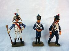 3 Soldats de plomb Starlux 1er empire - Lead soldier - BU2 lot 1