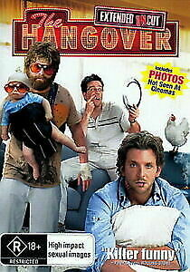 The Hangover Extended Uncut Edition DVD NEW R4