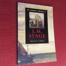 THE CAMBRIDGE COMPANION TO J M SYNGE P J Mathews Paperback