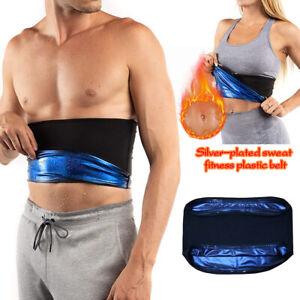 Sauna Schlankheitsgürtel Training Bauchscheide Korsett Schweißgürtel Wrap