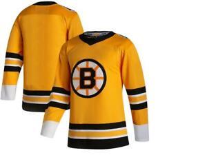 2020-21 Reverse Retro Boston Bruins Jersey Pastrnak,Bergeron,Marchand,DeBrusk