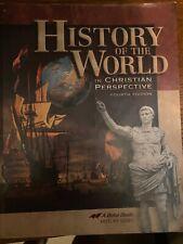 Abeka 7th grade History of the World textbook