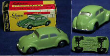 Schuco Piccolo VW Escarabajo Beetle bug verde/Green OVP/mib