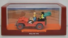 Herge 1:43 Willy´s Jeep MB 1993, Tintin Au Pays de L´or Noir