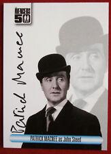 THE AVENGERS 50th - Patrick MacNee - Autograph Card - Unstoppable 2012 AV1